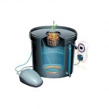 Гидропонная система DWC 1 горшок 80 мм